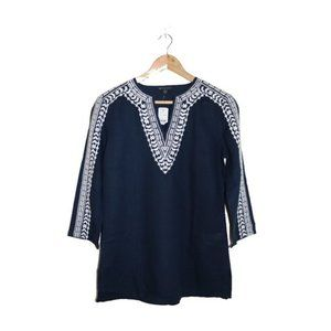 • 3/$45 - Brooks Brothers Embroidered Tunic Shirt